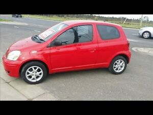 2005 Toyota Echo NCP10R Rush Red 5 Speed Manual Hatchback Keysborough Greater Dandenong Preview