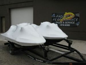 WINTERIZING,SHRINK WRAPPING,SEADOO,SEA DOO,YAMAHA,BOATS,BOAT
