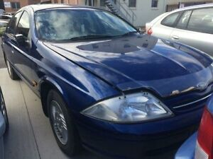 1998 Ford Falcon AU Futura Blue 4 Speed Automatic Sedan Georgetown Newcastle Area Preview