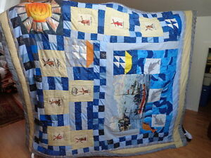 Quilt / Bedspread, Home Made, Titled People of the World 3 Oakville / Halton Region Toronto (GTA) image 3