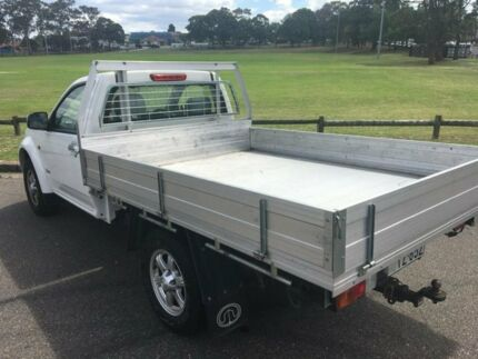 2014 Great Wall V240 K2 MY11 (4x2) White 5 Speed Manual Cab Chassis