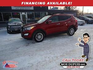 2013 Hyundai Santa Fe Luxury,ALL WHEEL DRIVE!