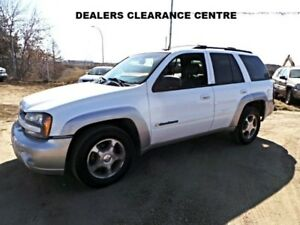 2004 Chevrolet TRAILBLAZER 4WD LS For Sale Edmonton