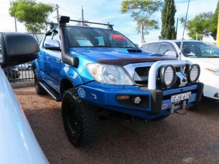 2006 Toyota Hilux KUN26R MY07 SR5 Blue 4 Speed Automatic Utility Minchinbury Blacktown Area Preview