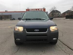 2004 Ford Escape XLT Duratec-WOW 66700 KM CERTIFIED-AWD-4X4 WOW