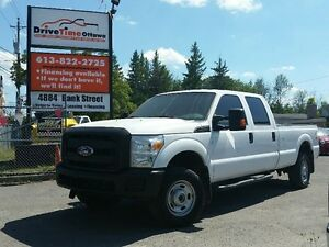 2012 Ford Super Duty F-350 CREW CAB 4X4 LONG BOX