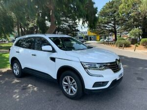 2018 Renault Koleos HZG Life X-tronic White 1 Speed Constant Variable Wagon Croydon Maroondah Area Preview