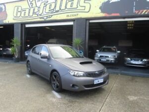 2009 Subaru Impreza G3 MY 09 AWD Black 5 Speed Auto Active Select Hatchback O'Connor Fremantle Area Preview