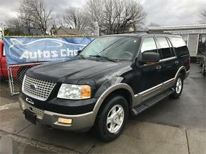 FORD EXPEDITION EDDIE BAUER  4X4 2003 **CUIR**TOIT**DVD**