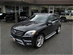 2015 Mercedes-Benz M-Class ML550 4MATIC WITH COLLISION ALERT