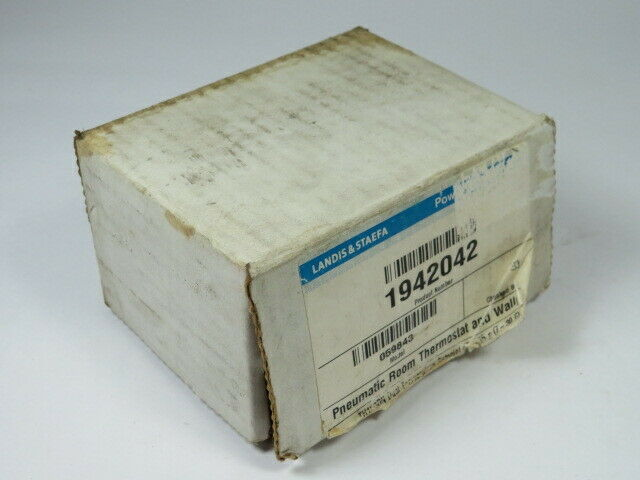 Landis + Staefa 192-204 Pneumatic Room Thermostat 45-85F  NEW