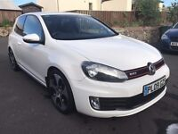 High Spec White Golf GTI 3dr,full Volkswagen service history, one previous owner, 12 months MOT.
