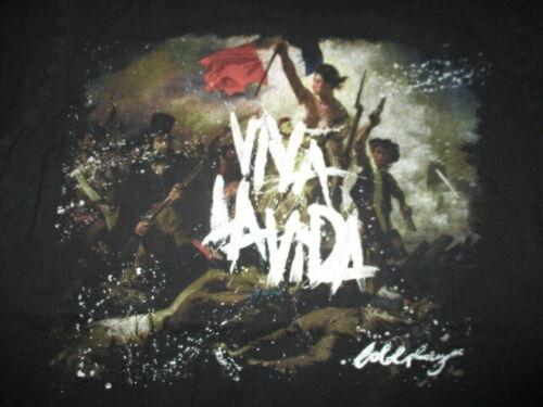 "2008 COLDPLAY ""VIVA LA VIDA"" Concert Tour (LG) T-Shirt CHRIS MARTIN"