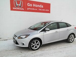 2013 Ford Focus TITANIUM, LEATHER, SUNROOF, AUTO, 4DOOR