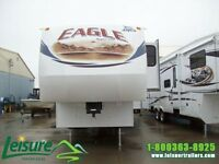 2012 JAYCO EAGLE SUPER LITE 31.5RLDS  FIFTH WHEEL