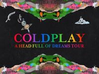 £250 - 2 tickets for Coldplay Principality Stadium