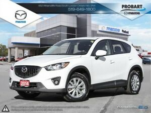 2014 Mazda CX-5 BSM | Moonroof | Heated Seats | Backup Camera