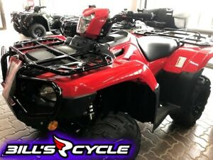 2018 Honda TRX 500 FM6J   Rubicon FootShift IRS Red PowerSteer