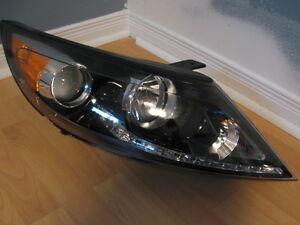 KIA SPORTAGE PHARE HEADLIGHT HEADLAMP LED LUMIÈRE LAMP LIGHT