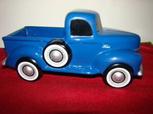 """Teleflora Gifts Ford F-1 Truck Model 11"""" Planter/Collectible"""