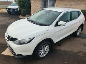 2017 Nissan Qashqai J11 MY18 ST White Continuous Variable Wagon Wilsonton Toowoomba City Preview