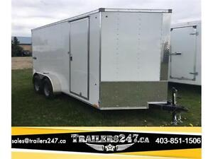 "-*-*7ft x 14ft Look Element Cargo Trailer w/6"" Extra height*-*-"