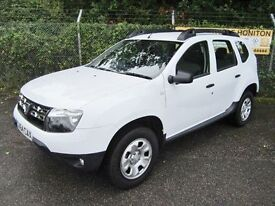 Dacia Duster 1.5 Ambiance DCi 110 Turbo Diesel 5DR (white) 2014
