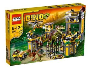 LEGO DINO 5887 Dino Defense HQ BRAND NEW SEALED
