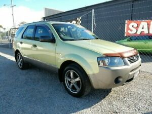 2004 Ford Territory SX TX AWD Green 4 Speed Sports Automatic Wagon Kippa-ring Redcliffe Area Preview