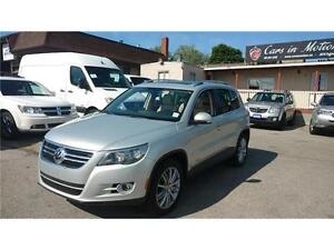 2009 VOLKSWAGEN TIGUAN 4MOTION, PANORAMIC SUNROOF,LEATHER