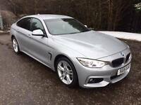 2015 15 BMW 4 SERIES 2.0 420D XDRIVE M SPORT GRAN COUPE 4D AUTO 181 BHP DIESEL