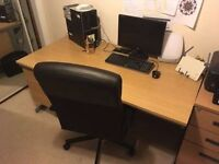 Desk + Office Chair + Chest of drawers. Make Me an Offer! :)