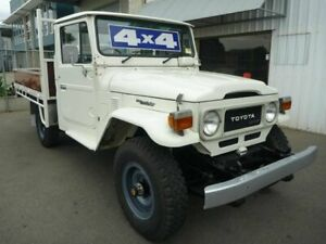 1984 Toyota Landcruiser HJ47 LWB White 5 Speed Manual Utility Edwardstown Marion Area Preview