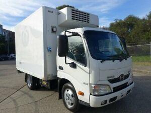 2013 Hino 300 XZU605R 616 IFS Auto SWB White Refrigerated Truck 4.0l 4x2 Homebush West Strathfield Area Preview
