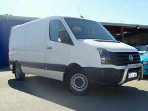 2013 Volkswagen Crafter 2ED1 MY14 35 MWB TDI340 White 6 Speed Manual Van Welshpool Canning Area Preview