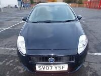 FIAT GRANDE PUNTO 1.2 ACTIVE 5 DOOR HATCHBACK 07 REG MOT MARCH 2017