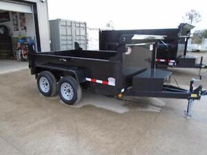 2017 6X10 DUMP TRAILER - BUILT TO LAST - BEST BANG FOR YOUR BUCK London Ontario image 3