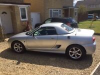 ��1,600 - MG TF 1.8 Litre, Petrol, 53 Plate, Silver, MOT Due Feb 17, Service History, Good Condition