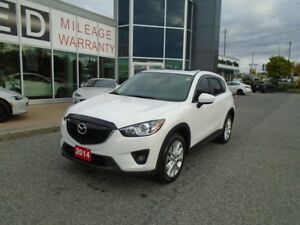 2014 Mazda CX-5 **BOSE, HID LIGHTS & LEATHER!** LOADED GT TECH A