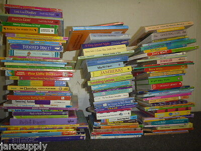 Lot of 10 Board Toddler Hardcover Picture DayCare Kid Child Books - MIX UNSORTED