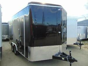 2017 Mirage 8.5 X 16 V-Nose Cargo / Toy Hauler w. Ramp and X Hgt
