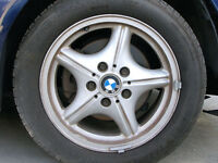 BMW Z3 Original Alloy wheel and tyre
