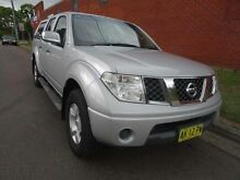 2006 Nissan Navara D40 ST-X Silver 6 Speed Manual Dual Cab Pick-up St Marys Penrith Area Preview
