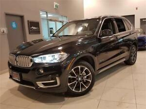 2017 BMW X5 xDrive35i-NAVI-REAR CAM-HUD-PANO ROOF-ONLY 58KM