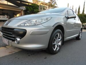 2007 Peugeot 307 MY06 Upgrade XSE 2.0 Silver 4 Speed Tiptronic Hatchback Southport Gold Coast City Preview