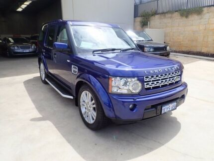 2011 Land Rover Discovery 4 Series 4 MY12 SDV6 CommandShift HSE Metallic Blue 6 Speed