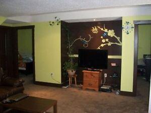 2 bedroom basement suite for rent in Evanston (NW)