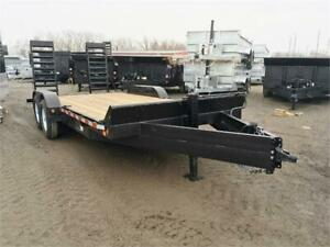 7x18 Equipment Trailer 7 Ton - Best In The Industry!