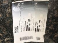 Billy Joel Tickets x 2 Saturday 16th June