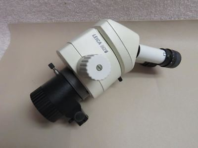Leica Mz6 Inspection Stereo Microscope W F100mm Objective Vertial Incident I